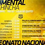 Desde las 2 pm solo se venderán entradas en boleterías del #MonumentalBancoPichincha #YoVoyAlMonumentalYTu ? http://t.co/aZmwdrBlOb
