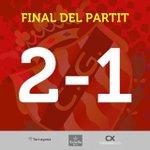La victòria davant lHuracán dóna matemàticament la 1a posició del grup III a falta de tres jornades per disputar. … http://t.co/W9E2uWgb7t