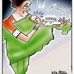 One Of The Best Cartoon On #NepalEarthquake. We Are With You Nepal. #EarthquakeAgain #PrayForNepal http://t.co/tAP9r2XnmK
