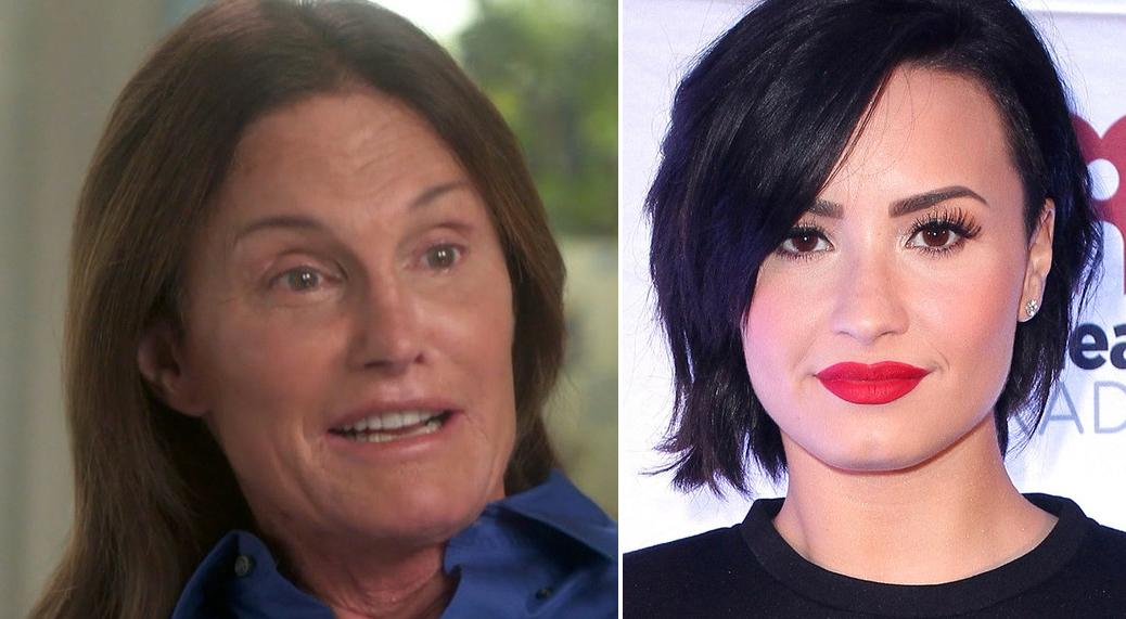 Demi Lovato dedicated a song to Bruce Jenner during her concert—such a touching tribute