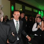 Scott Brown leads the Bhoys into the hall and the 13th Annual #CelticPOY awards are underway! (NM) http://t.co/XvdeoOJep4