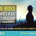 Este 01 de Mayo TOD@S por la Revolución del Trabajo @MashiRafael @marialevicuna @SomosMasEc @apguayas http://t.co/84J7KDJJ8T