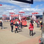 #Sens fans are taking in the Red Zone before tonights game. #ottnews http://t.co/j7YTOW0gAj