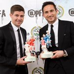 Huge congratulations to Steven Gerrard and Frank Lampard who receive the PFA Merit Award! #PFAawards http://t.co/l4g7hNf0H5