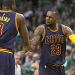 LeBron James is now 10-0 in 1st-round series in his NBA career. His teams have won 13 straight games in 1st round. http://t.co/KM4gC46ziX