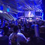 We are on ESPN2 right now making eSports history. The #StormTheDorm HYPE is REAL. Who do you think will win? http://t.co/8vmE4spV6s