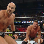 That look. This isnt over. @WWECesaro @KiddWWE #ExtremeRules http://t.co/klE8GlDGIo
