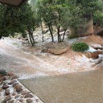 Hail yeah! This shot is from Payson within the past hour. Thanks to Bertha Padilla Escobedo for sharing. #azwx http://t.co/5rdi5HMlgV