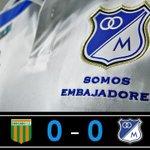 90 Termina el partido en Envigado. http://t.co/gtZ6xyFQU4