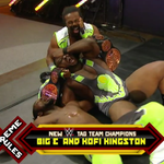 Congratulations to the NEWWWW @WWE Tag Team Champions, #TheNewDay! #ExtremeRules http://t.co/2QUiaYeN3u