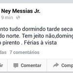 """@Neymessias .. Boa Noite! """"Os pirento"""" mandaram um salve PATY! http://t.co/KQPt98BgWY"""