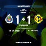 85 Recta final del partido @Chivas 1-1 @CF_America #DaleCampeón http://t.co/uiuF8xJETy