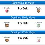 La pelea entre @MillosFCoficial @AguilasDoradasO @patriotasfutbol y @cdtolima aquí lo q le queda a cada uno: http://t.co/RApSuCpw9C
