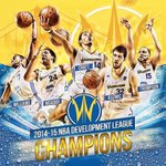 """@nbadleague: The @DLeagueWarriors are your 2014-15 NBA Development League Champions! 🏆 http://t.co/RmJzbautOs""CONGRATS! #DubNation #Proud"