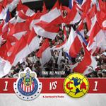 ¡Gracias por apoyarnos durante todo el partido, afición! #JuntosVsTodo. http://t.co/DK63hXiZrB