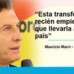 Las declaraciones de @mauriciomacri http://t.co/6JgI2oaYYF