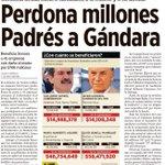Porque no solo se han perdonado millones en impuestos se han robado miles #OperacionGandalla http://t.co/zVc9nGuMbW