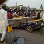 #UReport: Pedestrian Bridge collapses at Dorayi Quarters Kano today [GRAPHIC] - @Nuhusky1 http://t.co/mL92PAtZUm