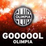 Gooooooooooooooooooooooooooooooool de #Olimpia a los 13 m Cristian Ovelar abre el marcador http://t.co/yFzR2TXphA