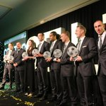 All of tonights award winners receive a standing ovation from everyone in the hall (NM) http://t.co/NIqM4GATj8