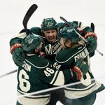 Wild move on! Minnesota advances over St. Louis with 4-1 victory in Game 6. Wild will face Blackhawks in next round. http://t.co/Deg5MaEBDa