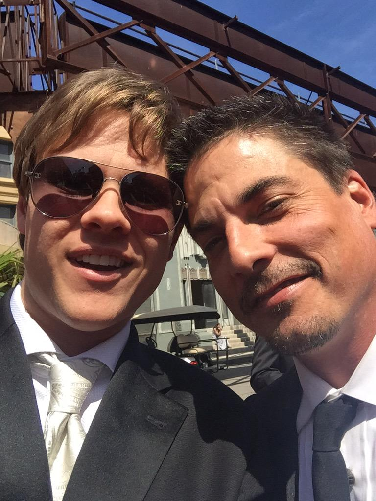 Me and my pops #LucasHorton at the #DaytimeEmmys http://t.co/tTdvHJbbQH