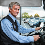Jose Mourinho, the highest paid bus driver in the world! ???????? http://t.co/iCoZ42plV4