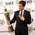 Huge congratulations to @ChelseaFC's @hazardeden10 - named the PFA Player's Player of the Year! #PFAawards http://t.co/AxKCMPSFes