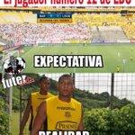 El jugador número 12 de #LDU [via @esteban14sprt] http://t.co/acQuDnXGN7