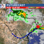 A cold front will move through the #RGV Monday bringing cooler temperatures for this week. @kgbt http://t.co/dx6oHypcJm
