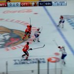 Pretty clear this puck was played with a high stick moments before the Gallagher goal. Brutal. #Sens http://t.co/7B9AeY9LIr