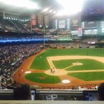 #fox10sports It just started raining at Dbacks game. Pirates leading Dbacks 5-0 at the top of the 9th inning. http://t.co/E5rt34ylTK