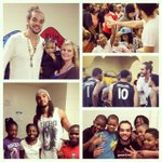 """From what we get, we can make a living. What we give...makes a life."" -Arthur Ashe #JoakimNoah #NBACommunityAssist http://t.co/Y1RW4q3huC"