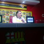 """Barcelona dominó, pero no tuvimos contundencia"", Israel http://t.co/3la1rwka2l vía @CanchaEcuador http://t.co/r5EKciW08f"