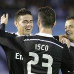 James y Chicharito guían al Real Madrid a la victoria. http://t.co/3ndLodFJpy http://t.co/MsDiqpPkqI