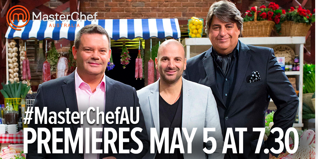 The most delicious news you'll hear all week - #MasterChefAU returns May 5 at 7.30 on @ChannelTen! http://t.co/JSF6Q4DbgS
