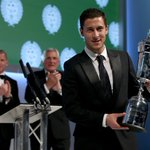 Eden Hazard was crowned PFA Players Player of the Year last night... http://t.co/kJkok2TYPA #CFC http://t.co/YTg1NklFmo