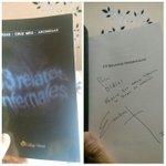 iniciamos el recorrido de este buen libro de #filbo2015 hecho por mi buen amigo @cruzescribiente #13RelatosInfernales http://t.co/R8sXHPyejO