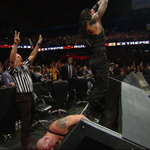 When one table isnt enough, go for TWO! Reigns pins down Big Show for 10 count! #LastManStanding #ExtremeRules http://t.co/Gx5UFPNw0v