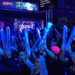The wave is real. Game 2 is starting right now on ESPN2. #StormTheDorm http://t.co/kxkypt4uzX