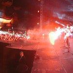 #ThePartyTour de @somosCD9 en el 5to. Festival de Globos Aerostáticos @parquexochitla http://t.co/vyuuw3H7GB