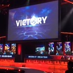.@ASU takes game 2 and we are all tied up! The HYPE is real at the #StormTheDorm Grand Finals! http://t.co/AtMb3DcDsL