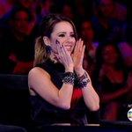 A carinha dela toda feliz porque escolheram ela, gente. <333 Fofa #Superstar http://t.co/CfGWR16zJr