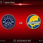 #ASCENSOMX : @AtleticoSLfc - @Dorados , la Gran Final del Clausura 2015 // http://t.co/qnqJ0CEq6x http://t.co/r0RyhCizQ7