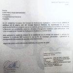 RT @davidroserow:16 de marzo solicité a Pdte.#CNE suba a la web expedientes de postulantes y cumpla la Constitución http://t.co/1Hyk22QXgO