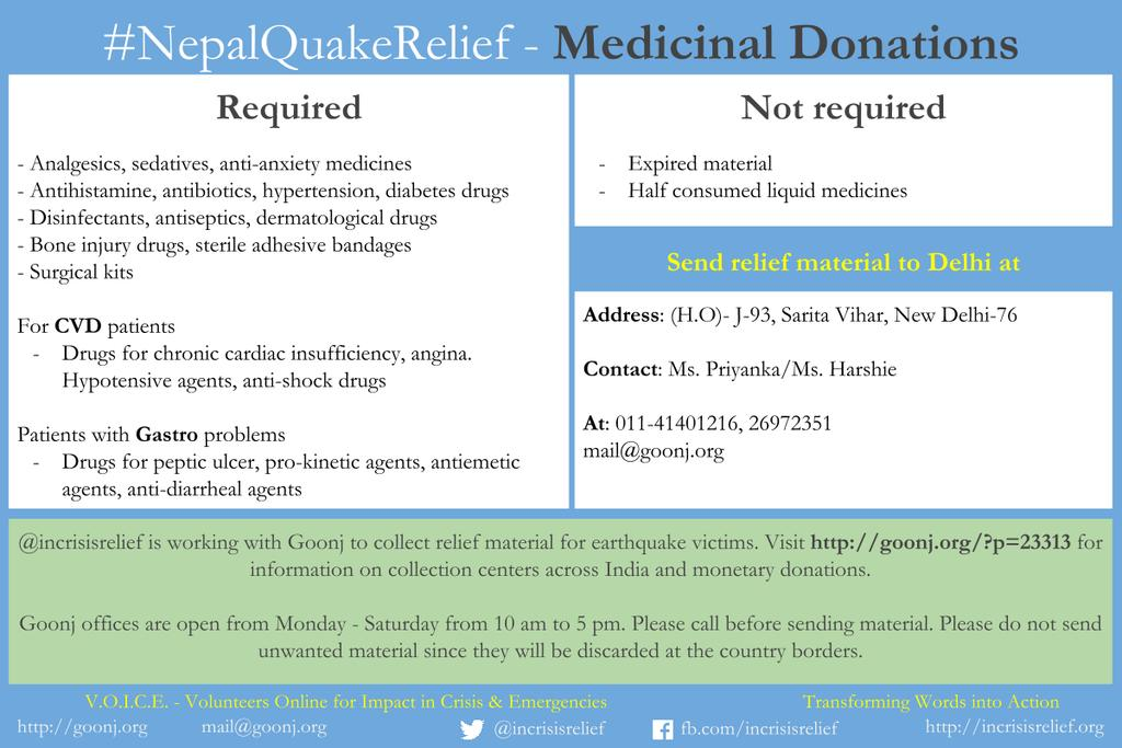 What we need, & where you can donate, all you need to know here. #NepalQuakeRelief PlsRt http://t.co/LkL0qKl7II