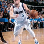 J.J. Barea finishes the game with 17 points and 13 assists, which is his 1st career playoff double-double. http://t.co/GPXANYDPxi