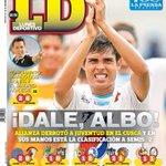 Compartimos la portada del #LunesDeportivo de este 27 de abril http://t.co/4nyEM9r2kF