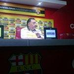 """""""Barcelona dominó, pero no tuvimos contundencia"""", Israel http://t.co/3la1rwka2l vía @CanchaEcuador http://t.co/o8t5GV3s1o"""