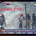 Miguel Llanos denuncia a encapuchados con fusiles en Carabayllo ¡Ahora en #DiaD por @atvpe! http://t.co/sN0wR1CwTN